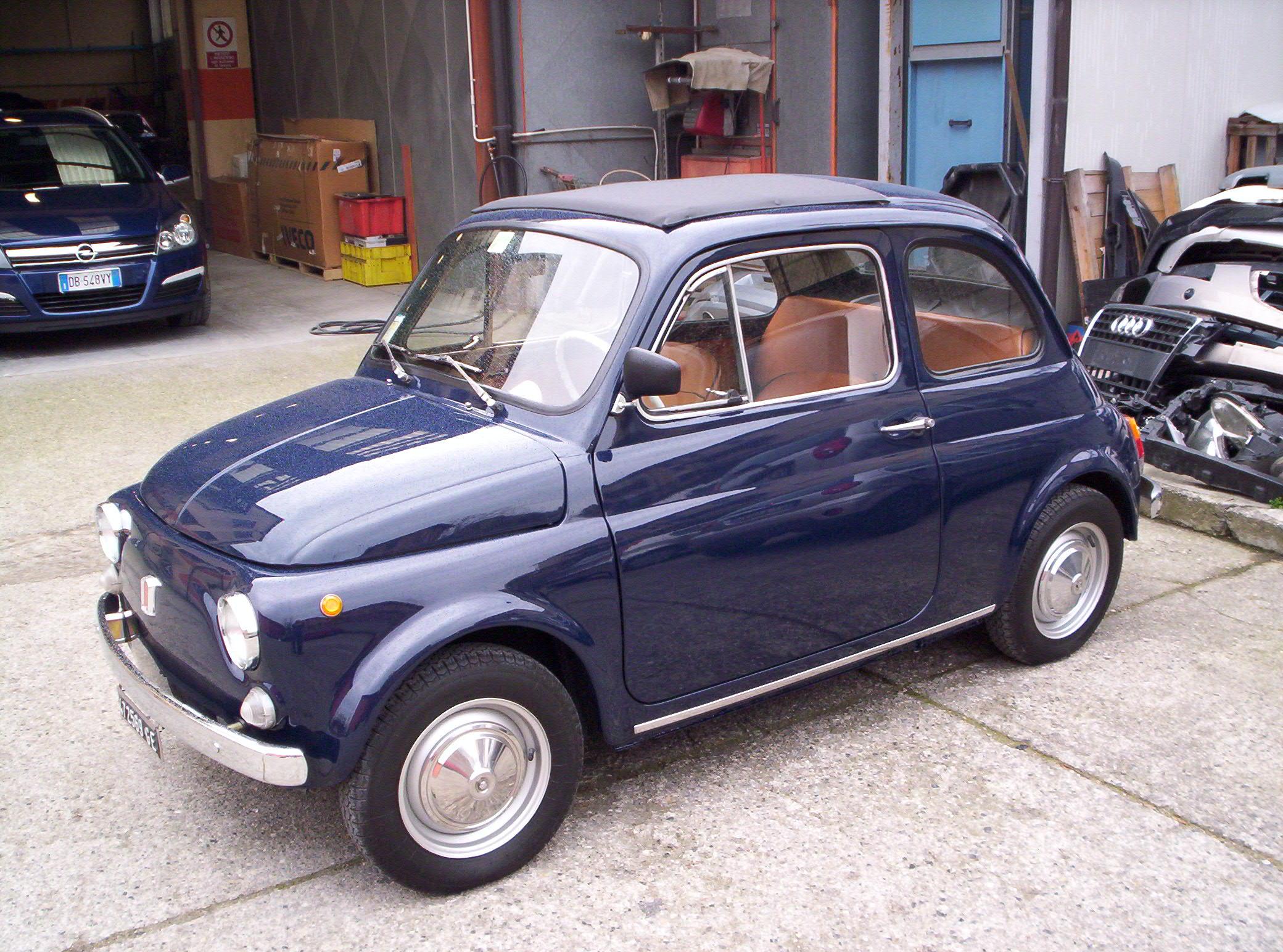 carrozzeria brescia - Fiat 500 old