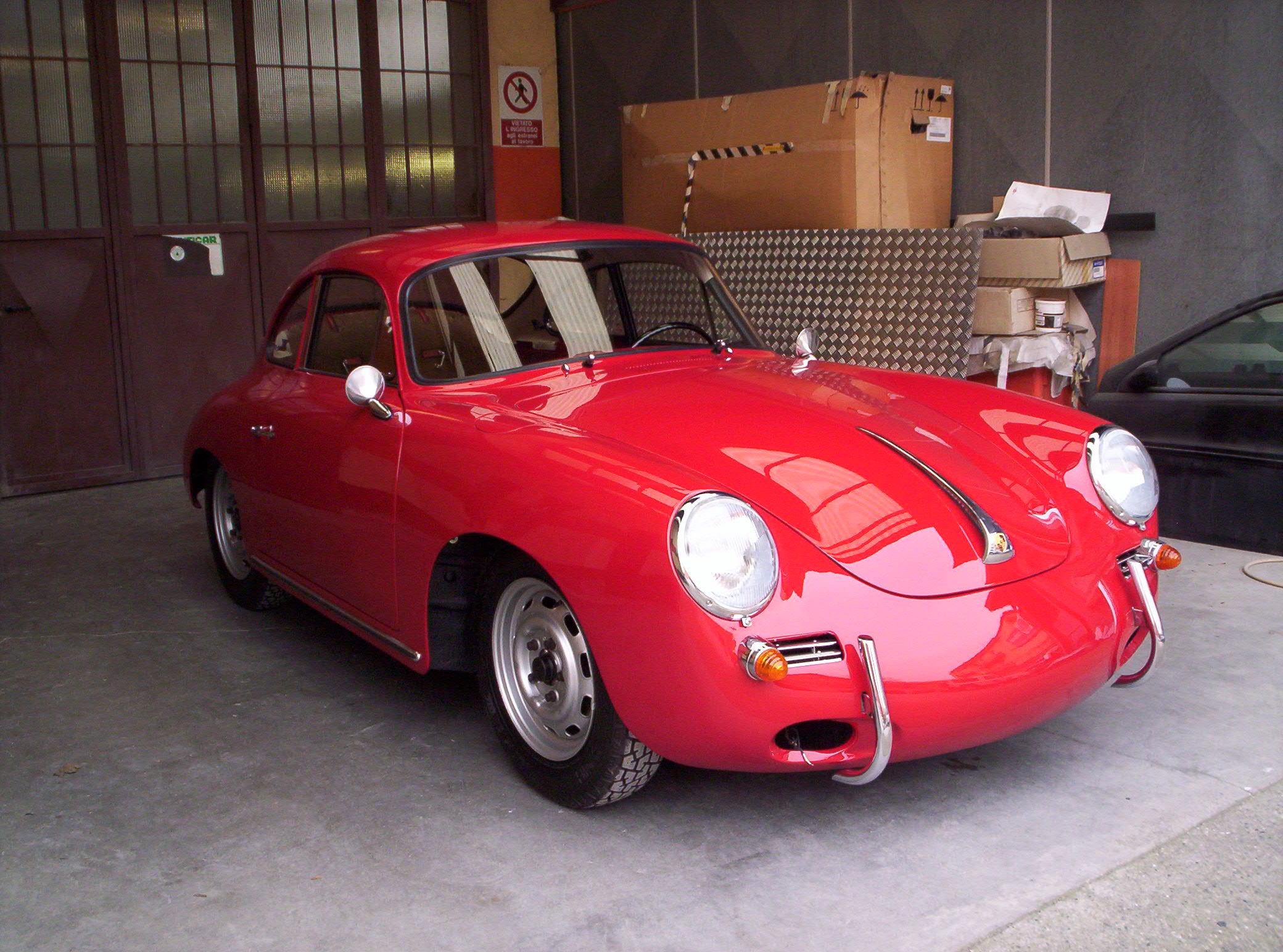 Porsche 356 sc- carrozzeria brescia