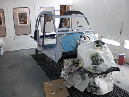 restauro auto d'epoca 2 cv carrozzeria brescia 6