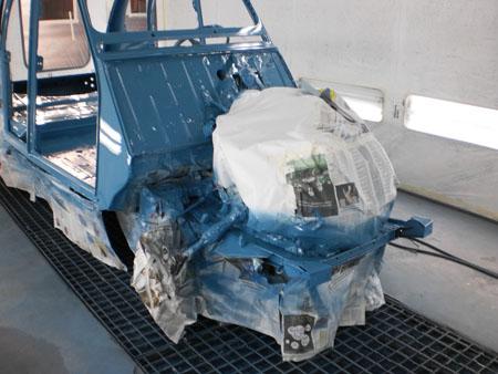 restauro auto d'epoca 2 cv carrozzeria brescia