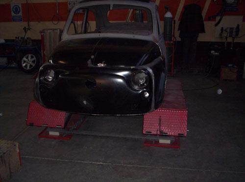 Fiat 500 old - carrozzeria brescia