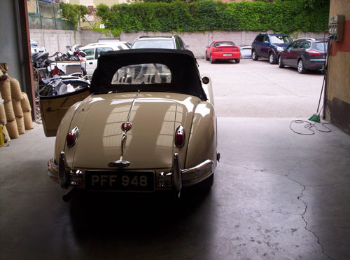 Jaguar XK - carrozzeria brescia